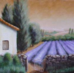 Tuscany painting by Diana Moore - New Zealand Artist